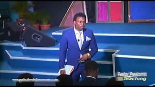 Don't be a Sunday Sunday Christian -- Pastor Preston Idoro