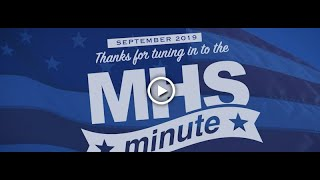 MHS Minute - September 2019