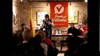 preview picture of video 'Presentació Junts per Vallirana amb Teresa Forcades i Omar Rodriguez'