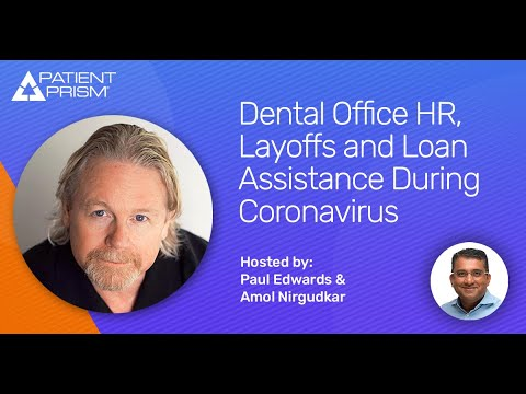 Dental Office HR, Layoffs and Loan Assistance During Coronavirus - Featured Image