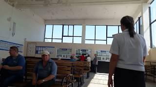 Полупустые кассы на автовокзале в Шахтах