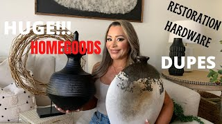 HUGE!!!! HOMEGOODS RESTORATION HARDWARE DUPE HAUL!