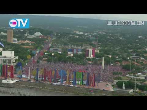 Tomas aéreas: Nicaragua 38 años del triunfo de la Revolución