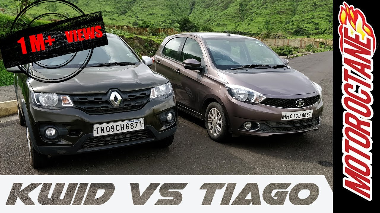 Motoroctane Youtube Video - Renault Kwid vs Tata Tiago Hindi Detailed Comparison - ??????? ????? v/s ???? ????? ?? ?????
