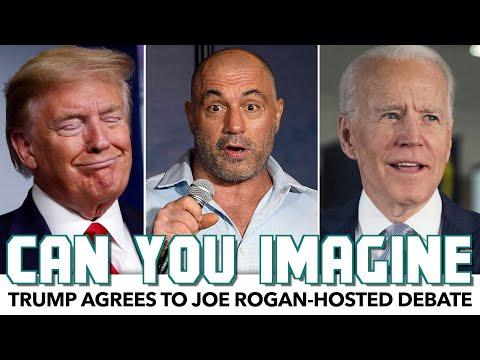 Trump Agrees To Joe Rogan-Hosted Debate