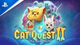 PlayStation Cat Quest II - Mew World Update - PS4 anuncio