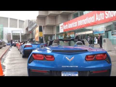 New Chevrolet Corvette Stingray gathering show-off at Detroit Motor Show - Autogefühl Autoblog