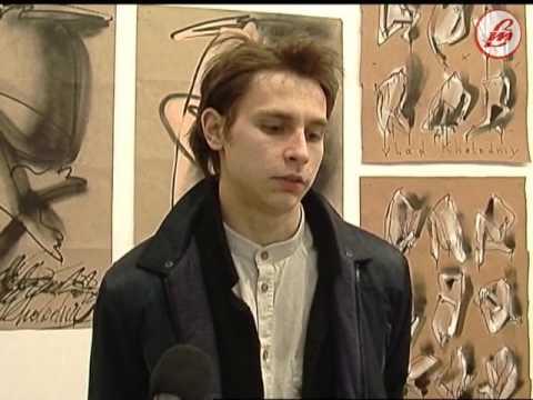 У Луцьку діє виставка місцевого художника Влада Холодного - YouTube