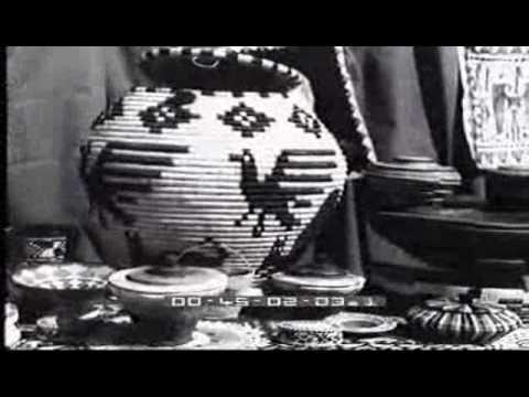Castelsardo - 1936 - Lavorazione dei cestini