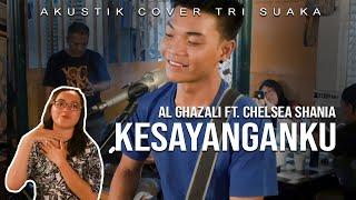 KESAYANGANKU AL GHAZALI FT CHELSEA SHANIA LIVE AKUSTIK COVER...