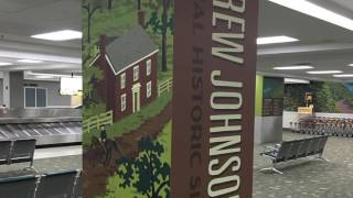 Knoxville Environmental Graphics  - McGhee Tyson Airport POST
