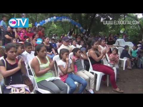 Familias de Vista Alegre celebran con calle adoquinada
