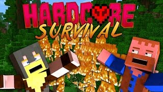 HARDCORE MINECRAFT ★ FOREST FIRE MAYHEM (3)