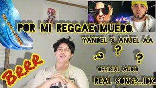Yandel X Anuel AA- Por Mi Reggae Muero (Official Audio) Reaction