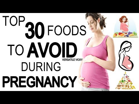 Top 30 Foods To Avoid During Pregnancy   Foods To Avoid While Pregnant