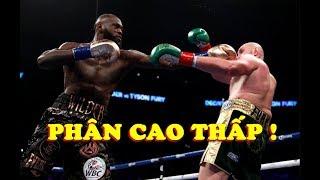 Tyson Fury Tái Đấu Deontay Wilder Có Mức Tiền Thưởng KINH KHỦNG