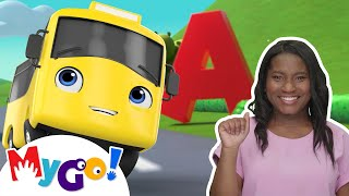 ABC Song | ASL - American Sign Language | Baby Songs | Little Baby Bum