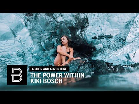 Freediving Icebergs with Kiki Bosch