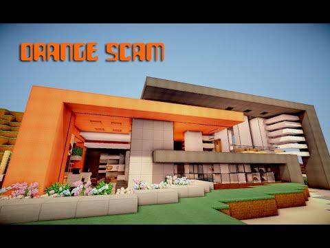 Orange scam an ultra modern scam minecraft project for Cuisine ultra moderne minecraft