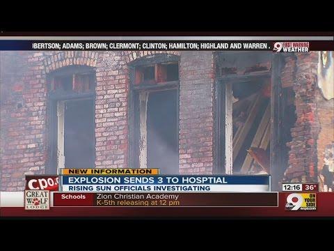 Fire in Rising Sun, Indiana