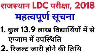 RSMSSB Ldc Result 2018   Rajasthan Kanisth Sahayak Bharti Result News 2018