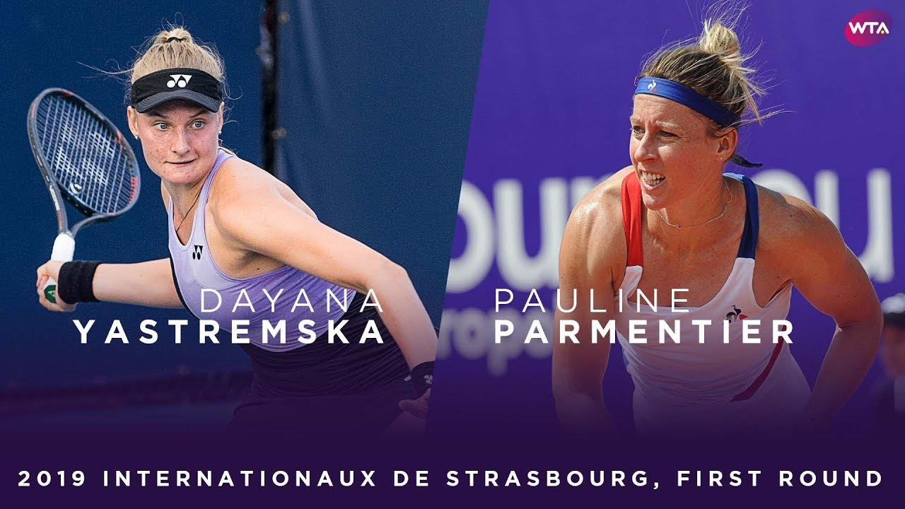 Обзор матча Даяна Ястремская - Полин Парментье в Страсбурге (ВИДЕО)