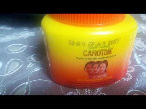 تجربتي لكريم كاروتون | سلبياته و اجابياته | طريقة استعماله | Créme  Carotone | كريم التبيض الرهيب