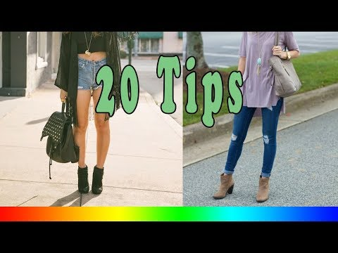 20 Style Tips On How To Wear Ankle Boots In The Spring