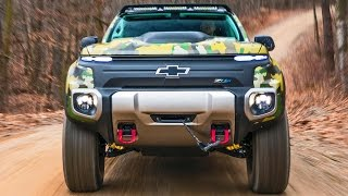Chevrolet Colorado ZH2 – Production, Offroad Test, Design