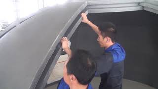 Installation Guide For Dome House (50㎡) (B)
