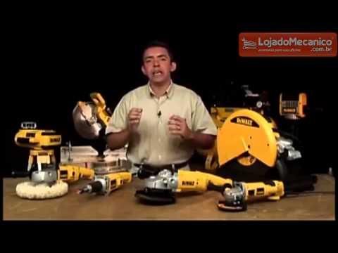 Esmerilhadeira Angular de 4-1/2 Pol. 900W  - Video