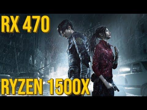 Resident Evil 2 Remake DEMO - RX 470 | Framerate Test