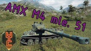 World of Tanks CZ - AMX M4 mle. 51