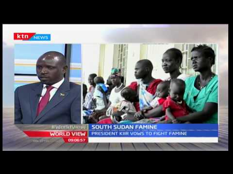 Worldview: Half of South Sudan facing  Famine - 22nd February,2017