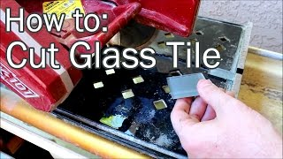 How to Cut Glass Tile.