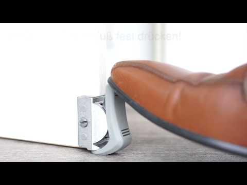 Clipflix Türstopper - Der innovative Türkeil für Zimmertüren