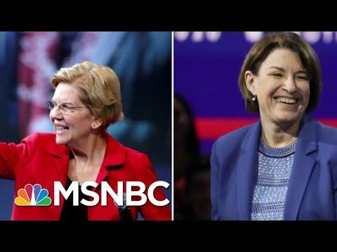 Elizabeth Warren, Amy Klobuchar Get Dual New York Times Endorsement   Velshi & Ruhle   MSNBC
