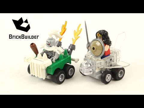 Vidéo LEGO DC Comics Super Heroes 76070 : Mighty Micros : Wonder Woman contre Doomsday