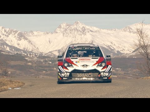 Rally Monte-Carlo 2018 Shakedown Day