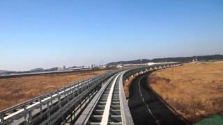 Incheon Airport Maglev map and video of the ride.