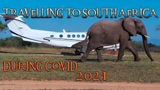 Travel to SA 2021 - What to expect - flights - procedures