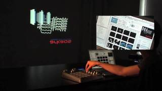 ArKaos GrandVJ Video Tutorial - 2. GrandVJ 1.0 MIDI Mixer Mode demo
