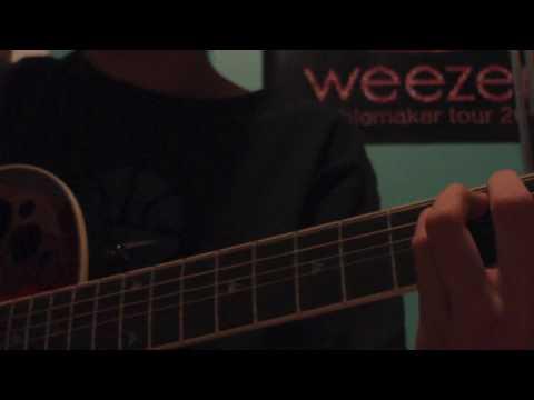 I Don't Want to Let You Go chords & lyrics - Weezer