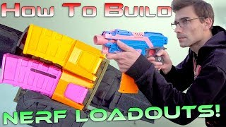 Nerf Speed Loadout! How To Build A Nerf Loadout | Workbench Wednesday