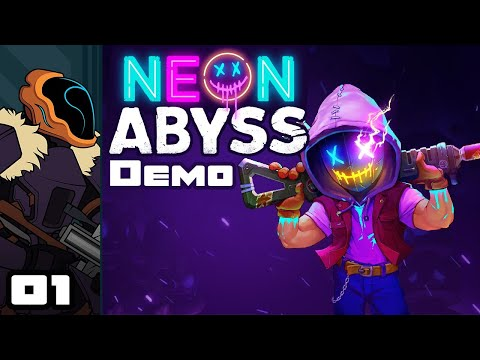 Gameplay de Neon Abyss