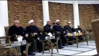 كلمة فضيلة الدكتور علاء الدين الحموي في تعزية سيدي الوالد الحاج محمود زعتري رحمه الله