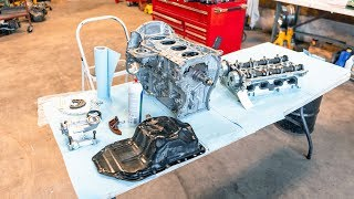 How To Rebuild A Car Engine (4B11T)