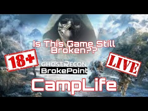 Tom Clancy's Ghost Recon BREAKPOINT 18+ PVE PVP & GETTING IT DONE