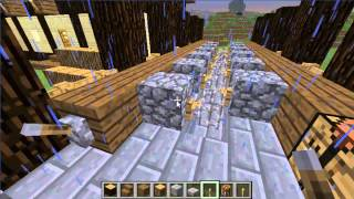 preview picture of video 'Minecraft Lets Build a Village-Part 3-The saw'