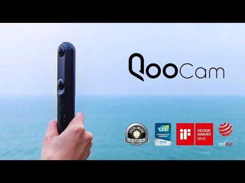 QooCam: World's First 3 lenses 4K 360 & 3D Camera-GadgetAny